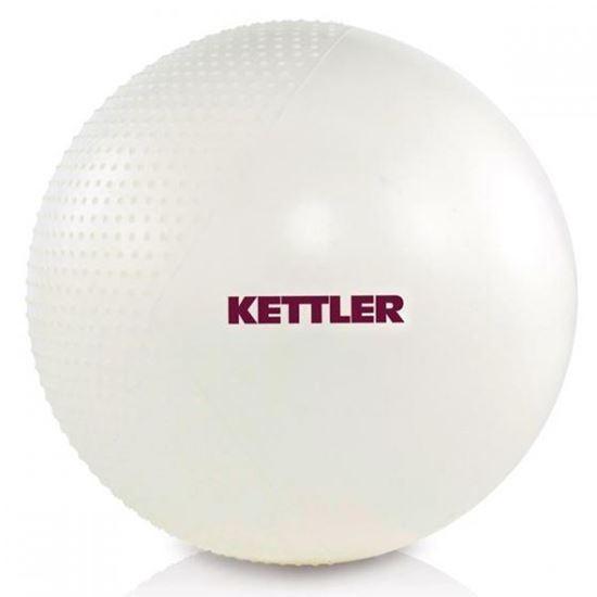 KETTLER gimnastična in masažna žoga Ø 65 cm - bela