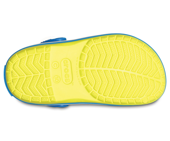 CROCS crocband clog 204537 tennis ball/green ocean