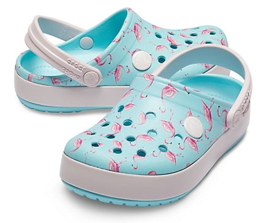 Picture of CROCS crocband multi kids 205532 ice blue