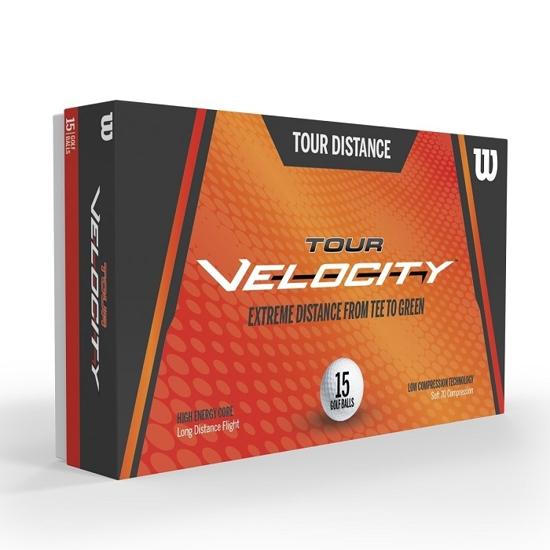 WILSON žogice za golf  WGWR72000 VELOCITY DISTANCE