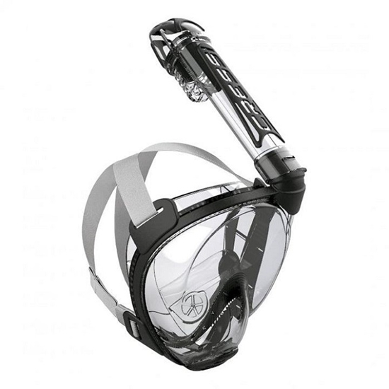 CRESSI maska FULL FACE XDT010000 DUKE DRY clear/silver