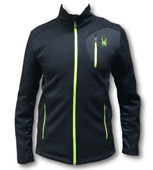 SPYDER m midlayer 199200 016 BANDIT FULL ZIP FLEECE