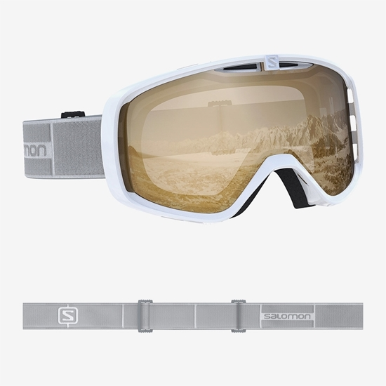 SALOMON smučarska očala L40846100 AKSIUM ACCESS WHITE