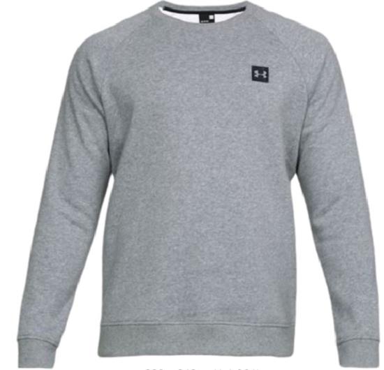 UNDER ARMOUR m pulover 1320738-036 RIVAL FLEECE