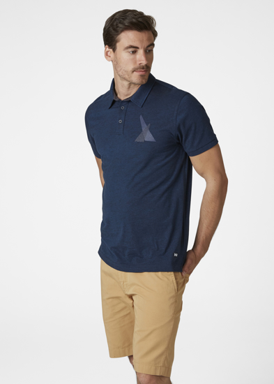 Picture of HELLY HANSEN m polo majica 53024 593 FJORD POLO