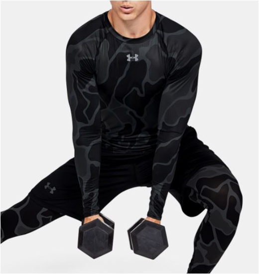 Picture of UNDER ARMOUR m trening majica 1345721-002 HG LS NOW
