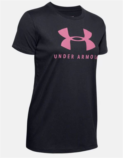 Picture of UNDER ARMOUR ž majica kr 1346844-003 GRAPHIC SPORTS