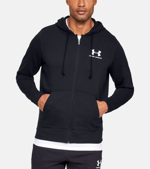 Picture of UNDER ARMOUR m jopica 1345776-001 SPORTSTYLE TERRY