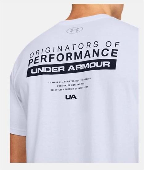 UNDER ARMOUR m majica kr 1352045-100 BAR ORIGINATORS OF PERFORMANCE