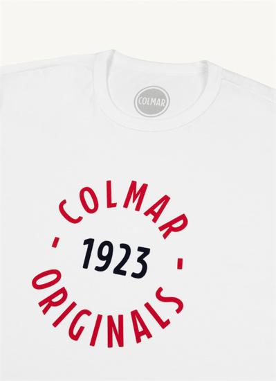 Picture of COLMAR m majica kr 75606SH 01 WHITE