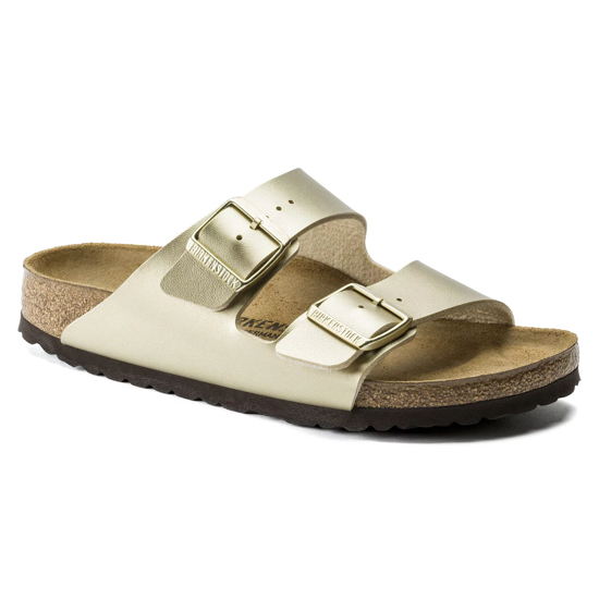 Picture of BIRKENSTOCK natikači 1016111 ARIZONA - narrow - gold