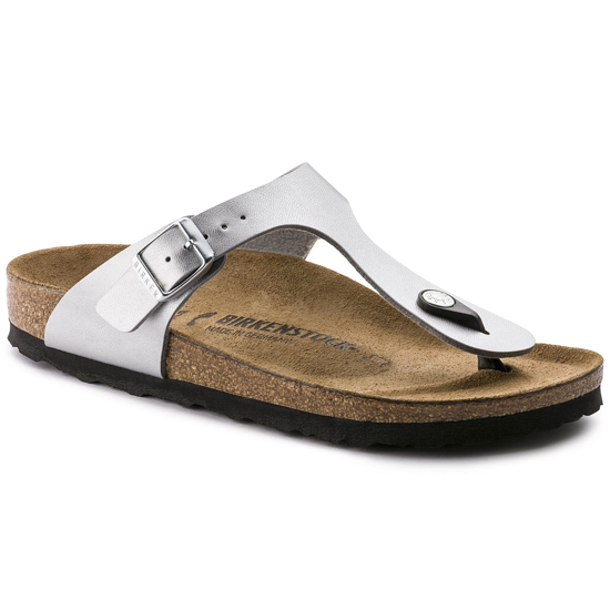Picture of BIRKENSTOCK natikači 43851 GIZEH - regular - silver