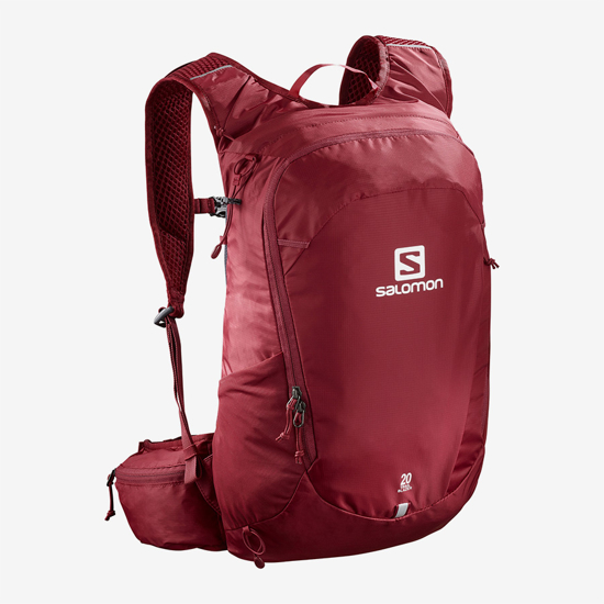 Picture of SALOMON nahrbtnik LC1084600 TRAILBLAZER 20 RED EBONY