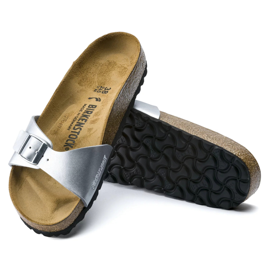 Picture of BIRKENSTOCK natikači 40413 MADRID - narrow - silver