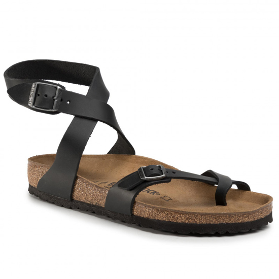 Picture of BIRKENSTOCK natikači 1011442 YARA - regular - black