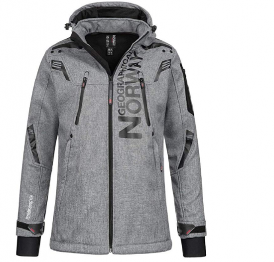 Picture of GEOGRAPHICAL NORWAY m softshell TALENTUEUX blended grey