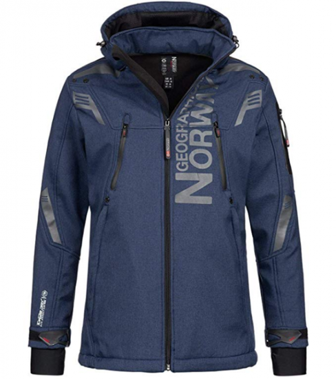 Picture of GEOGRAPHICAL NORWAY m softshell TALENTUEUX navy