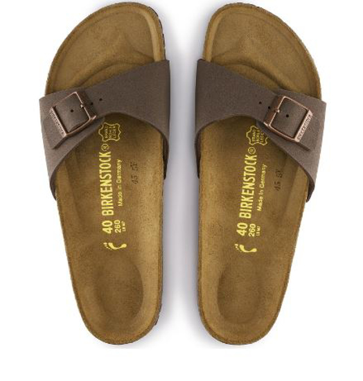 BIRKENSTOCK natikači 40091 MADRID- regular - mocha
