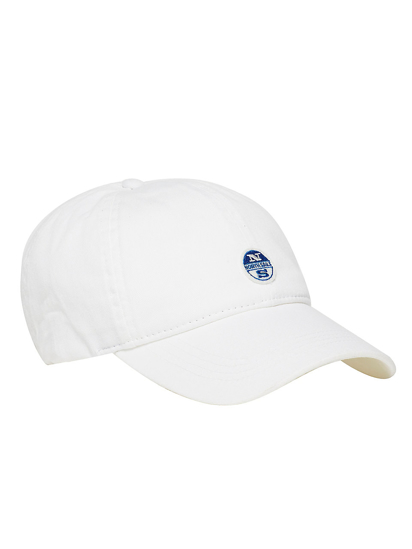Picture of NORTH SAILS ŠILT KAPA 623072 0101 BASEBALL W/LOG - WHITE