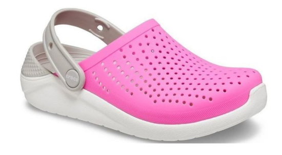 CROCS LiteRide Clog 205964 electric pink/white