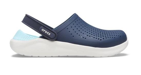 CROCS LiteRide Clog 204592 navy/almost white