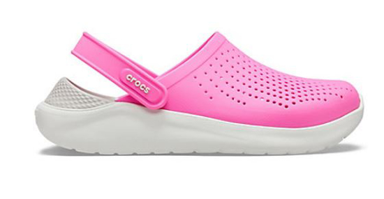 CROCS LiteRide™ Clog 204592 electric pink / almost white