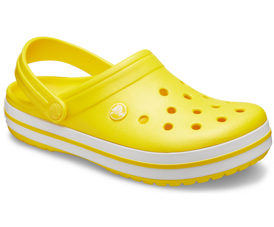 CROCS crocband 11016 lemon/white