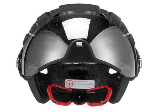 UVEX kolesarska čelada S4107530317 FINALE VISOR Black Matt