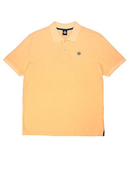 NORTH SAILS m polo majica kr 692272 0555  PIQUÉ orange fluo