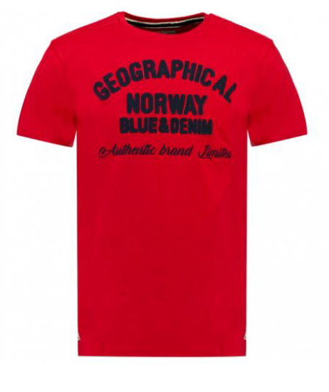 GEOGRAPHICAL NORWAY m majica kr JIVORS red