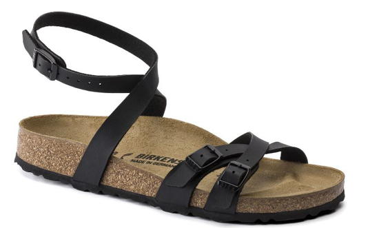 BIRKENSTOCK natikači 1015840 BLANCA -narrow- black