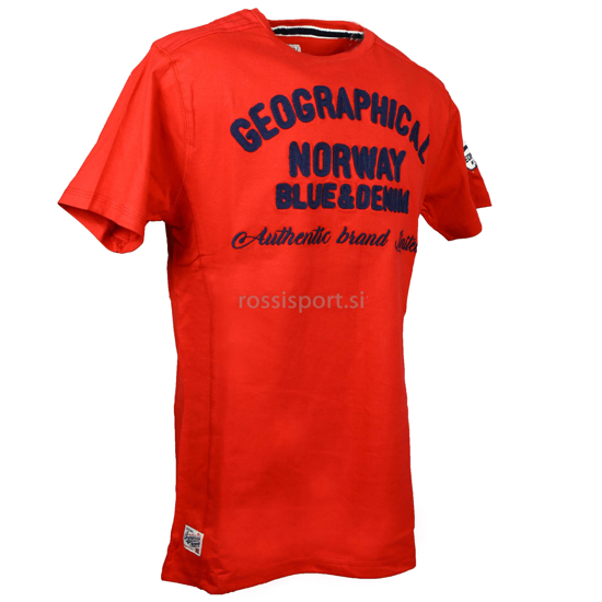 Picture of GEOGRAPHICAL NORWAY m majica JIVORS red