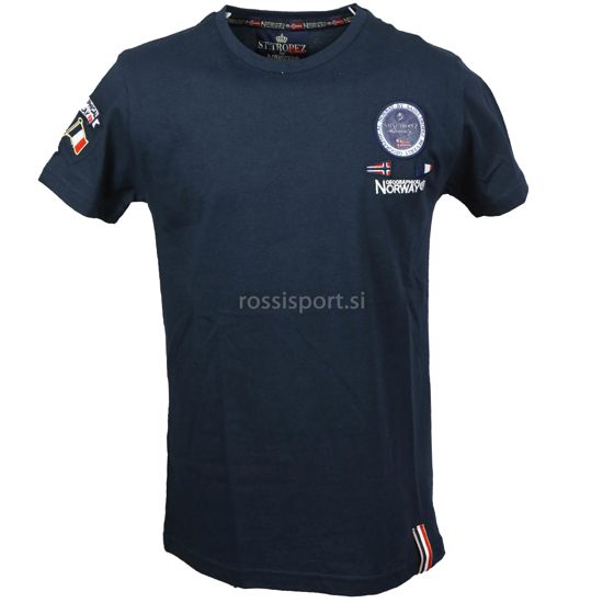 Picture of GEOGRAPHICAL NORWAY m majica kr JAVAIRE navy