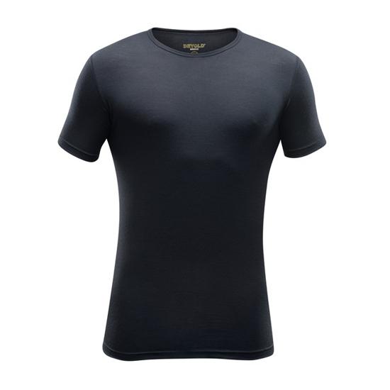 Picture of DEVOLD m perilo majica 180 210 A 950A BREEZE T-SHIRT black