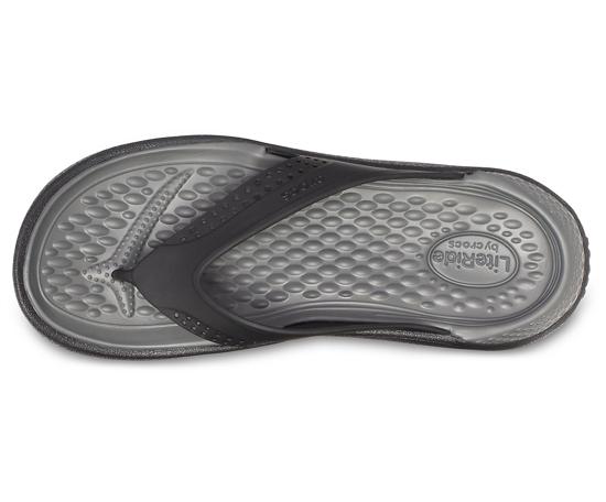 Picture of CROCS LiteRide™ flip 205182 0DD black/slate grey