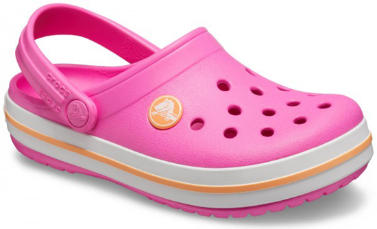 Picture of CROCS crocband clog 204537 6QZ electric pink