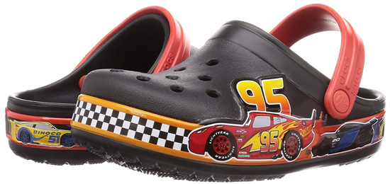 Picture of CROCS funlab Cars 206472 001 black red