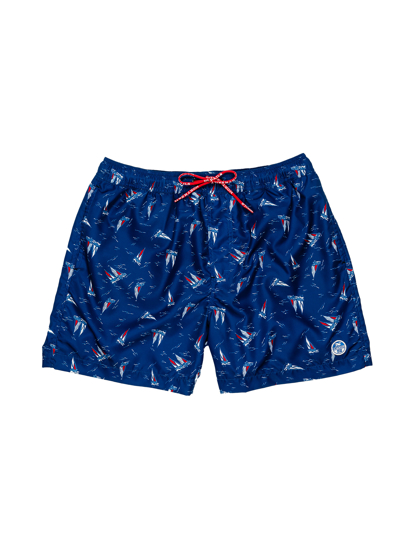 Picture of NORTH SAILS m kopalne hlače 673454 C020 ALLOVER SHORT
