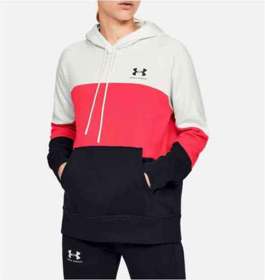 UNDER ARMOUR ž kapucar  1353544-112 RIVAL FLEECE