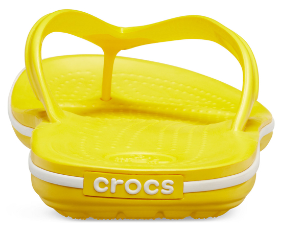 Picture of CROCS crocband flip 11033 lemon/white