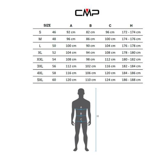 CMP m bunda 30K2867 N950 JAKET FIX