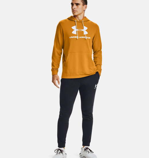 Picture of UNDER ARMOUR m kapucar 1348520-711 TERRY LOGO HOODIE