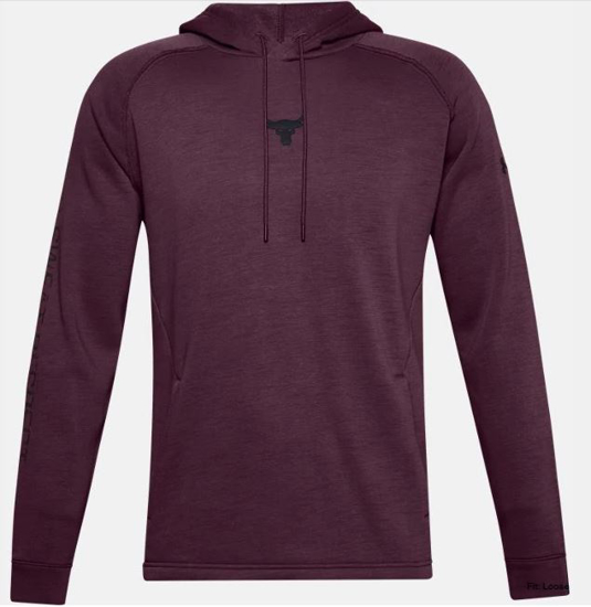 Picture of UNDER ARMOUR m kapucar 1357193-569 PROJECT ROCK CHARGED COTTON® HOODIE