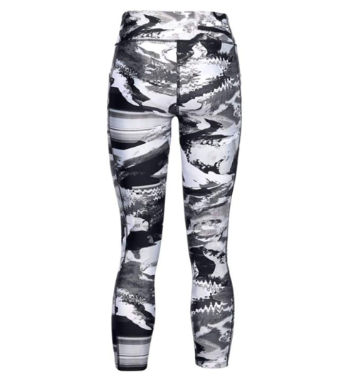UNDER ARMOUR ž legice 1353296-005 HEATGEAR® ARMOUR PRINTED ANKLE CROP