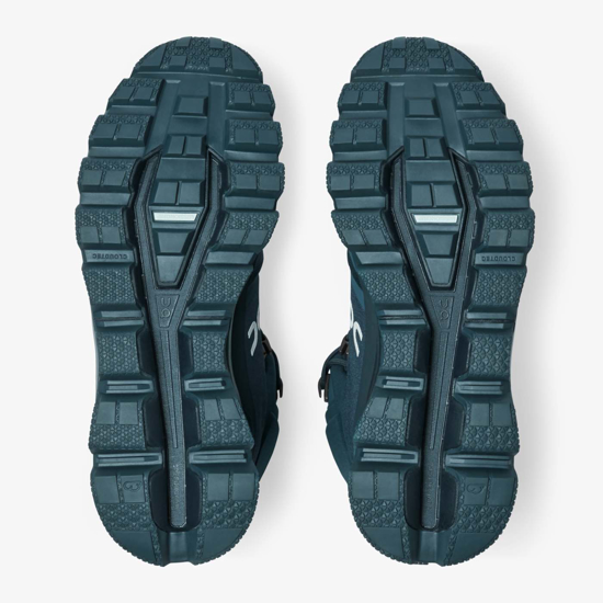 Picture of ON m trail copati 23.99754 CLOUDROCK WATERPROOF navy/midnight