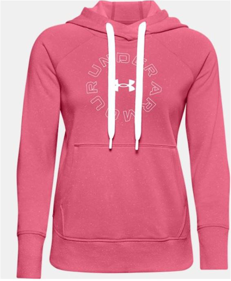 UNDER ARMOUR ž kapucar 1356323-668 RIVAL FLEECE