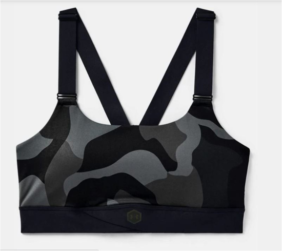 Picture of UNDER ARMOUR ž trening top 1358108-001 RUSH MID CAMO