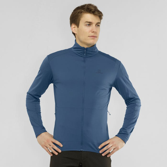 Picture of SALOMON m midlayer LC1369500 OUTRACK FULL ZIP