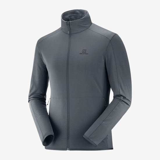 Picture of SALOMON m midlayer LC1369300 OUTRACK FULL ZIP