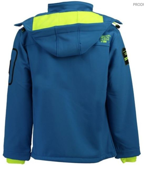 GEOGRAPHICAL NORWAY m softshell TORRY blue